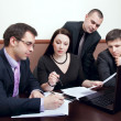 Businesspeople at meeting in office — Stock Photo #9290346