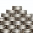 Pyramid of the coins — Stock Photo #9290407