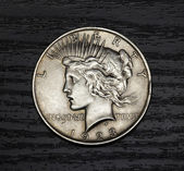 Old antique coin — Stock Photo