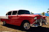 Classic car in Havana — Stock Photo