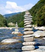 Pyramid of stones — Foto de Stock