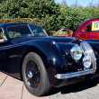 Classic old car 1953 Jaguar XK120 Roadster — Stock Photo