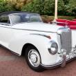 Classic old car white — Foto de stock #9624930