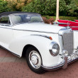 Classic old car white — Stockfoto #9624930