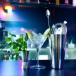 Shaker and bar inventory — Stock Photo #9624932