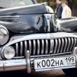 Classic old car black — Stock Photo #9624955