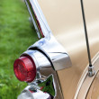 Classic old car back view — Stock Photo