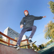 Skateboarder in the skatepark — Stock Photo #9625044
