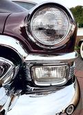 Klassische alte Auto Close-up richtig Vorderansicht — Stockfoto