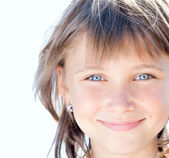 Attractive beautiful young girl — Stock Photo