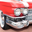 Classic old car red — Stock Photo