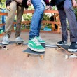 Skateboarders — Stock Photo #9889847