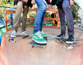 Skateboarders — Stock Photo