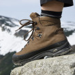 Mountain boots - Stock Photo