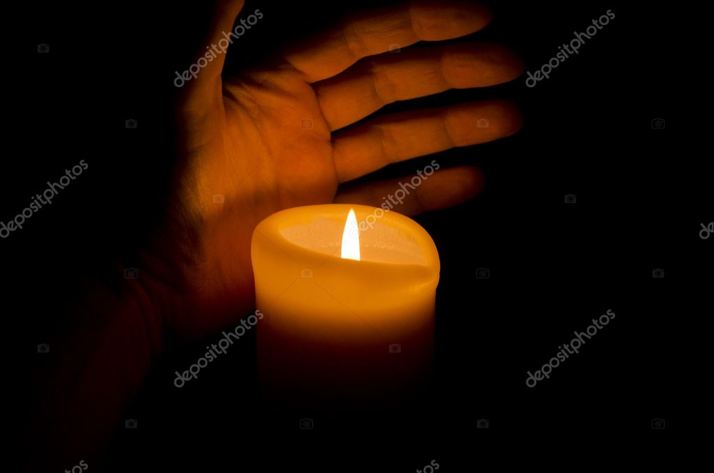 Candle light — Stock Photo #9190075