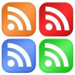 Rss icons — Stock Photo #10141997