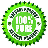 Pure natural product — Stock Photo