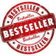 Bestseller stamp — Stock Photo