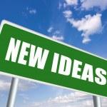 New ideas — Stock Photo