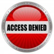 Royalty-Free Stock Photo: Access denied icon