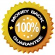 Money back guarantee — Stock Photo #10666003