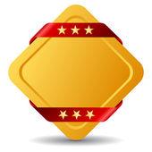 Blank award emblem — Stock Photo