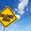 Challenges ahead — Stock Photo