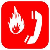 Yangın alarm — Stok fotoğraf