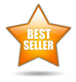 Bestseller sign — Stockfoto