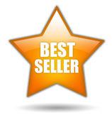 Znak bestsellerem — Zdjęcie stockowe