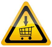 Segno di vendita — Foto Stock