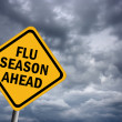 Stock Photo: Flu season ahead