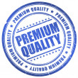 Premium quality stamp — Stock Photo