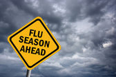 Flu season ahead — Foto de Stock