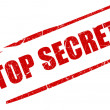 Top secret stamp — Stock Photo #9506001