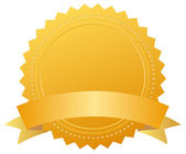 Blank award medal — Stock Photo