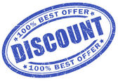 Discount stamp — Stock Photo