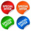 Stock Photo: Special offer