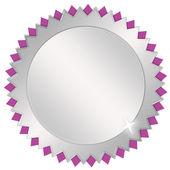 Leer-medaille — Stockfoto