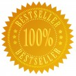 Bestseller star — Stockfoto