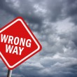 Wrong way — Stock Photo #9831860