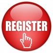 Register now label - Stock Photo