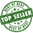 Top seller stamp — Stock Photo #9897966