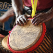 African drummer 2 — Stock Photo