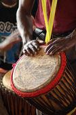 Baterista africana 2 — Foto Stock