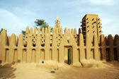 Mud mosque in Dogon village — Stock Photo