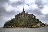 Mont Saint Michel backside — Stock Photo