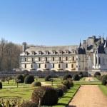 Chenonceau castle in Loire — Stock Photo