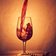 Постер, плакат: Wine splash composition II