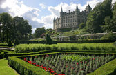 Dunrobin castle in Scotland — Stock Photo